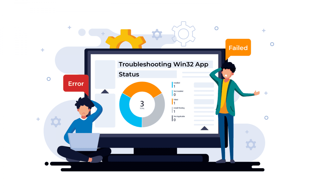 How to troubleshoot Win32 app on device?